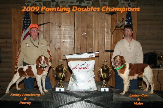 2009 Doubles Pointing National Champions