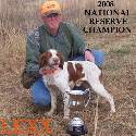 "Kenny Armstrong and <a href=""http://bamabirddog.com/dog.php?dogID=64"">Lexx</a>"